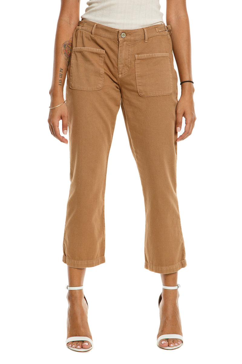 CHICAGO FLARE PANTS - CAMEL