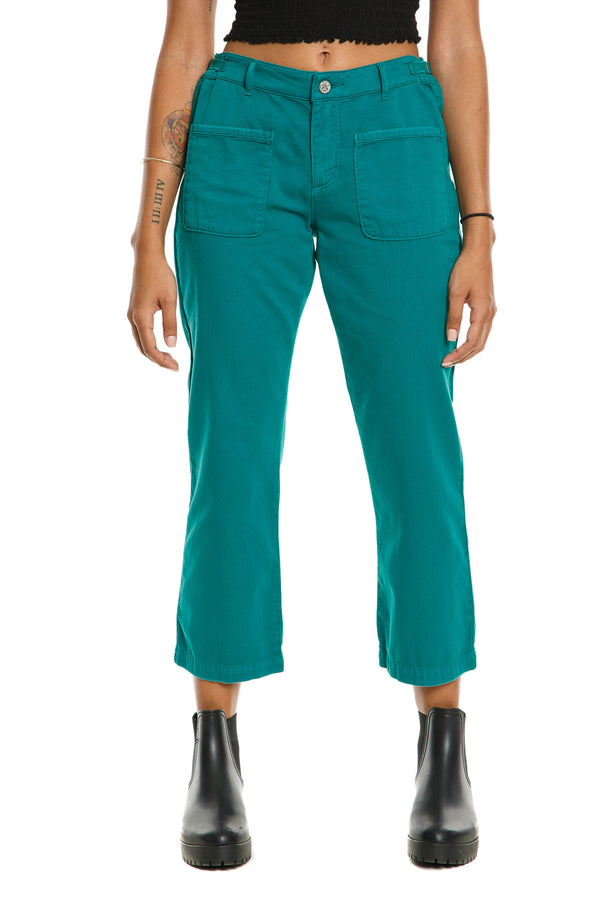 CHICAGO FLARE PANTS - EMERAL