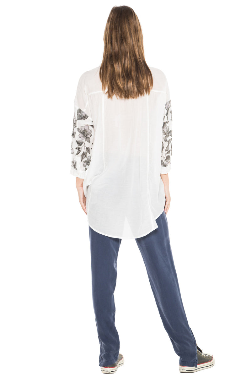 BABY DOLL TUNIC - WHITE - Da-Nang