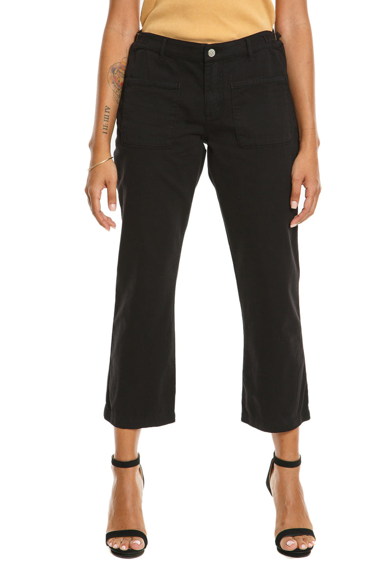 CHICAGO FLARE PANTS - CAVIAR
