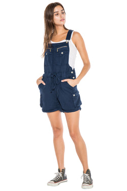 OVERALL ROLLED UP SHORT - NAVY - Da-Nang