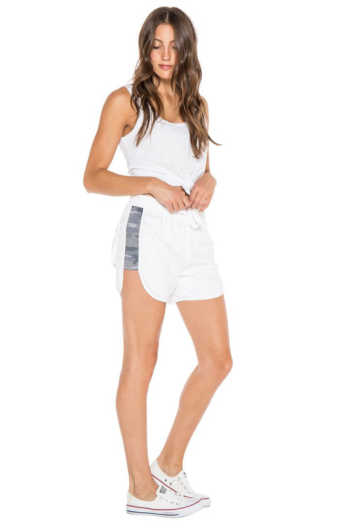 MILITARY BEACH SHORT - WHITE - Da-Nang