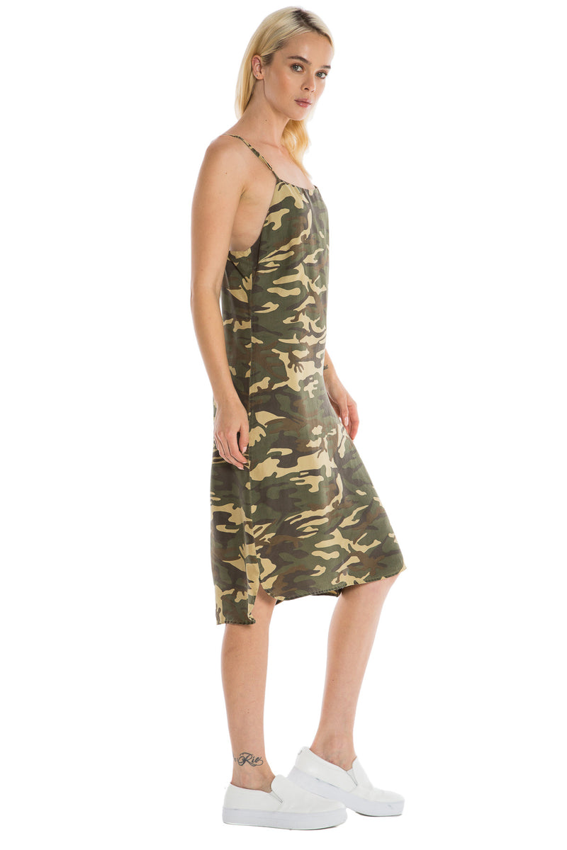 TAYLOR DRESS - ARMY CAMO - Da-Nang