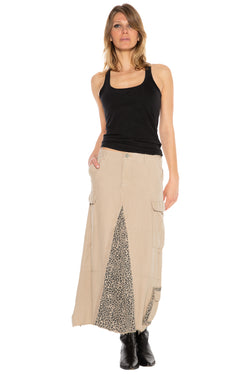 ORIGINAL MILITARY LONG SKIRT - OXFORD TAN - Da-Nang