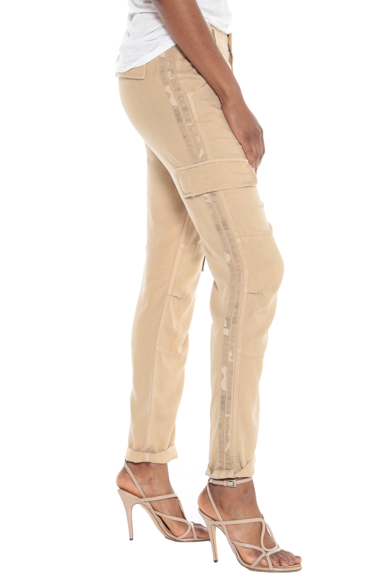 ROLLED UP CARGO PANT - WARM SAND - Da-Nang