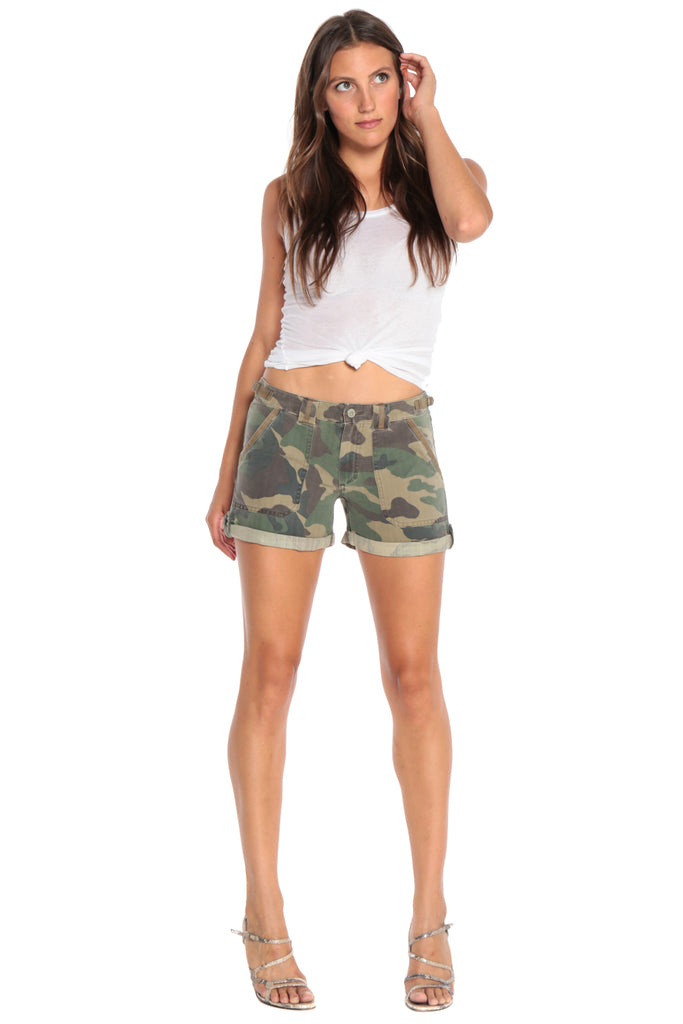 0a0469803f35 VINTAGE ROLLED SHORT - ARMY CAMO - Da-Nang