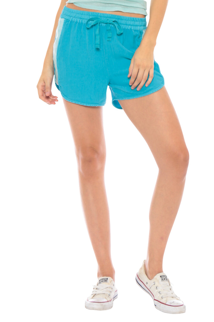MILITARY BEACH SHORT - TURQUOISE - Da-Nang