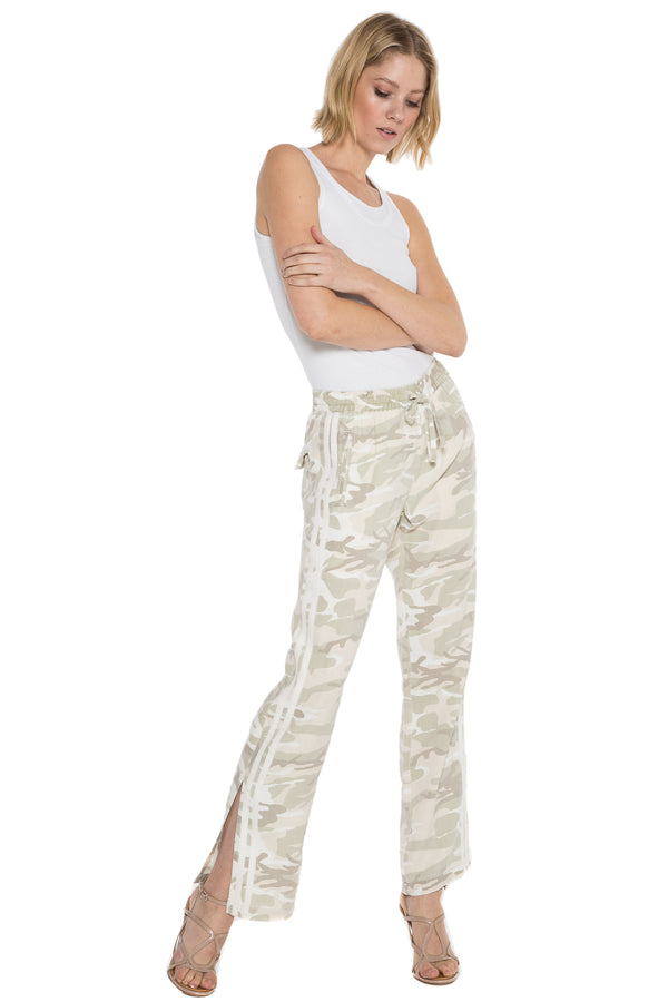 MILITARY STRIPED TRACK PANT - CLOUD CAMO - Da-Nang