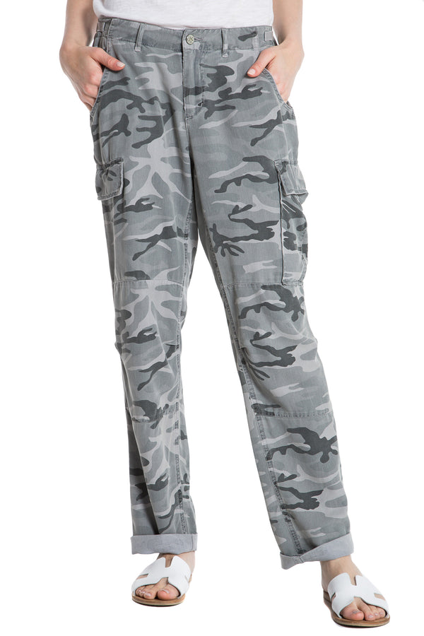 ROLLED UP CARGO - CHARCOAL CAMO - Da-Nang