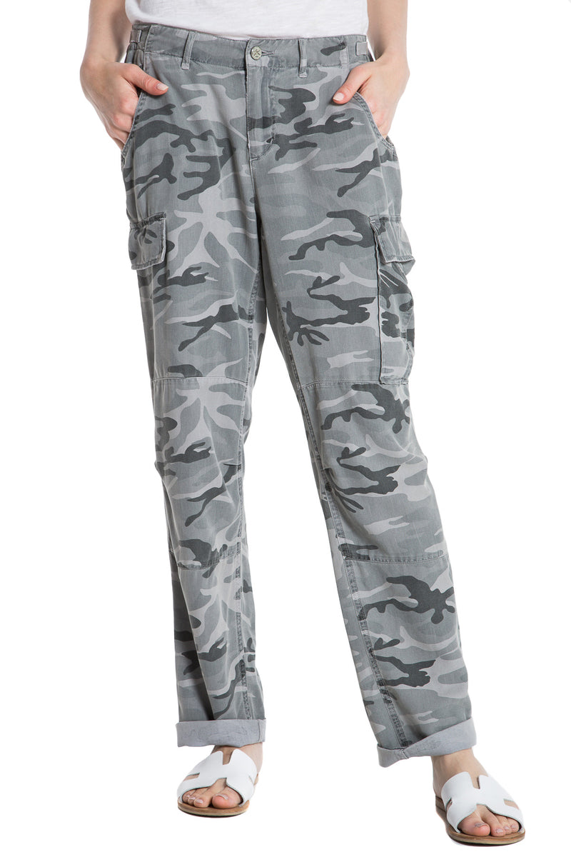 ROLLED UP CARGO - CHARCOAL CAMO