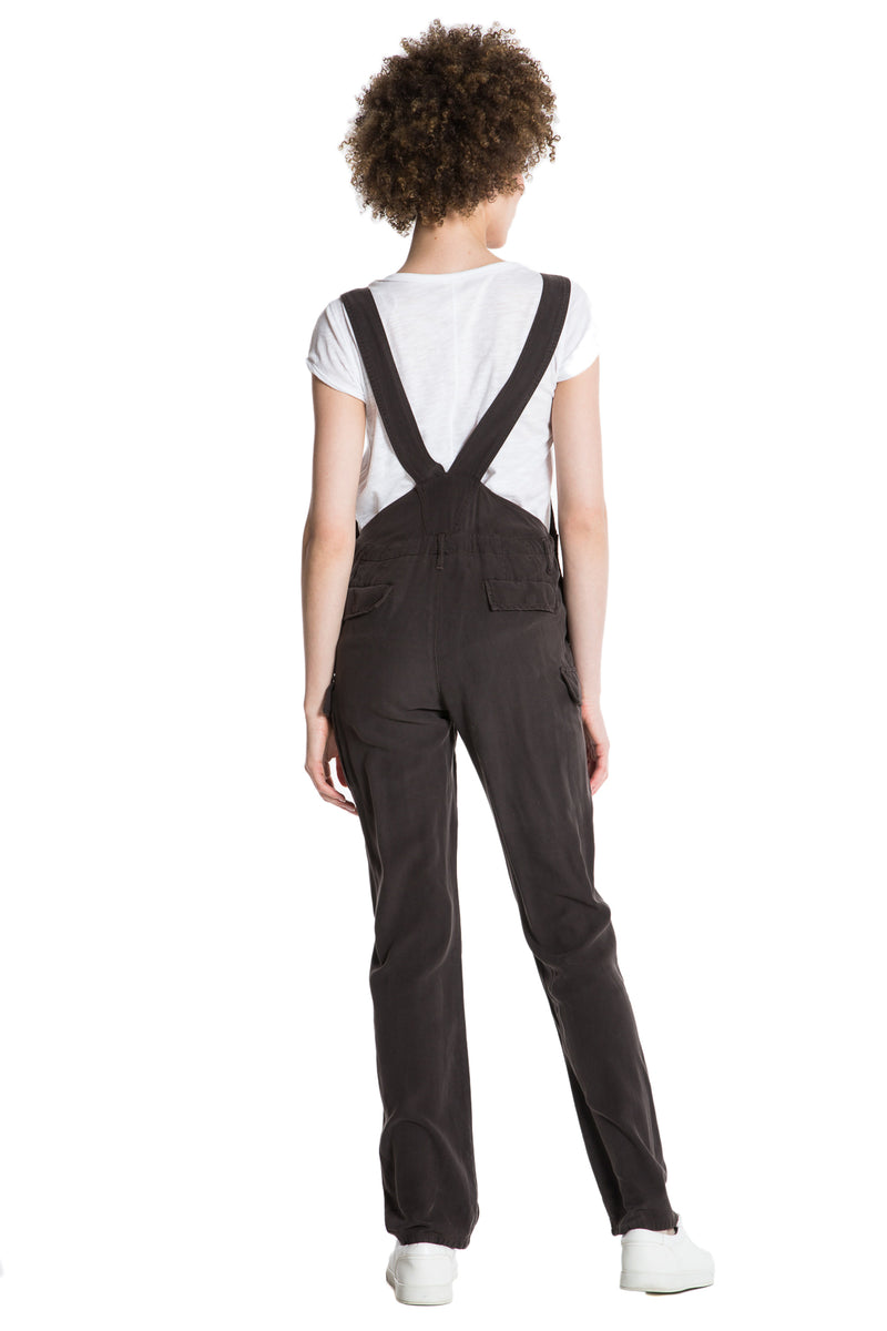 THE OVERALL PANT - LICORICE - Da-Nang