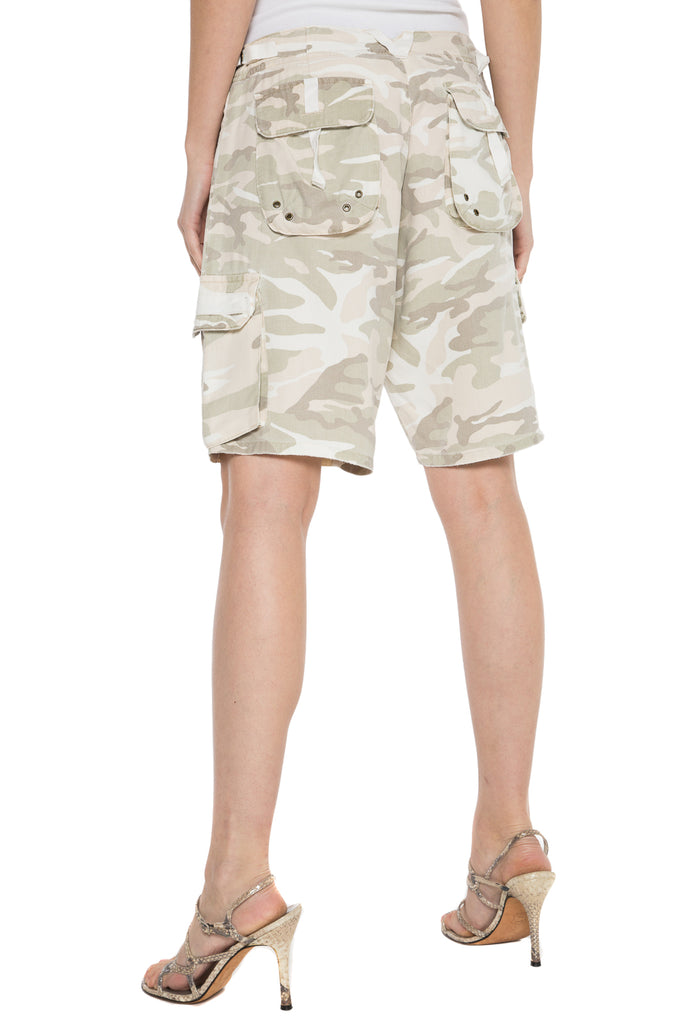 EASTY FIT BERMUDA - CLOUD CAMO - Da-Nang