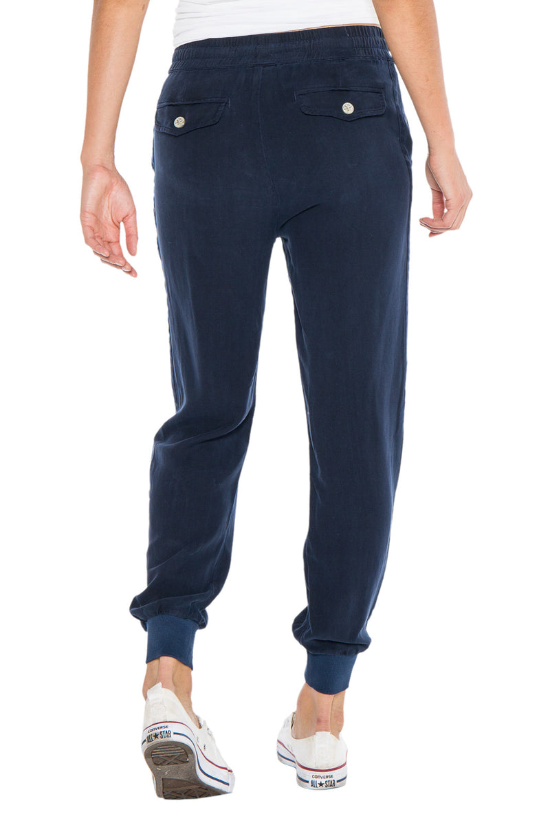 STRIPED JOGGER - NAVY - Da-Nang