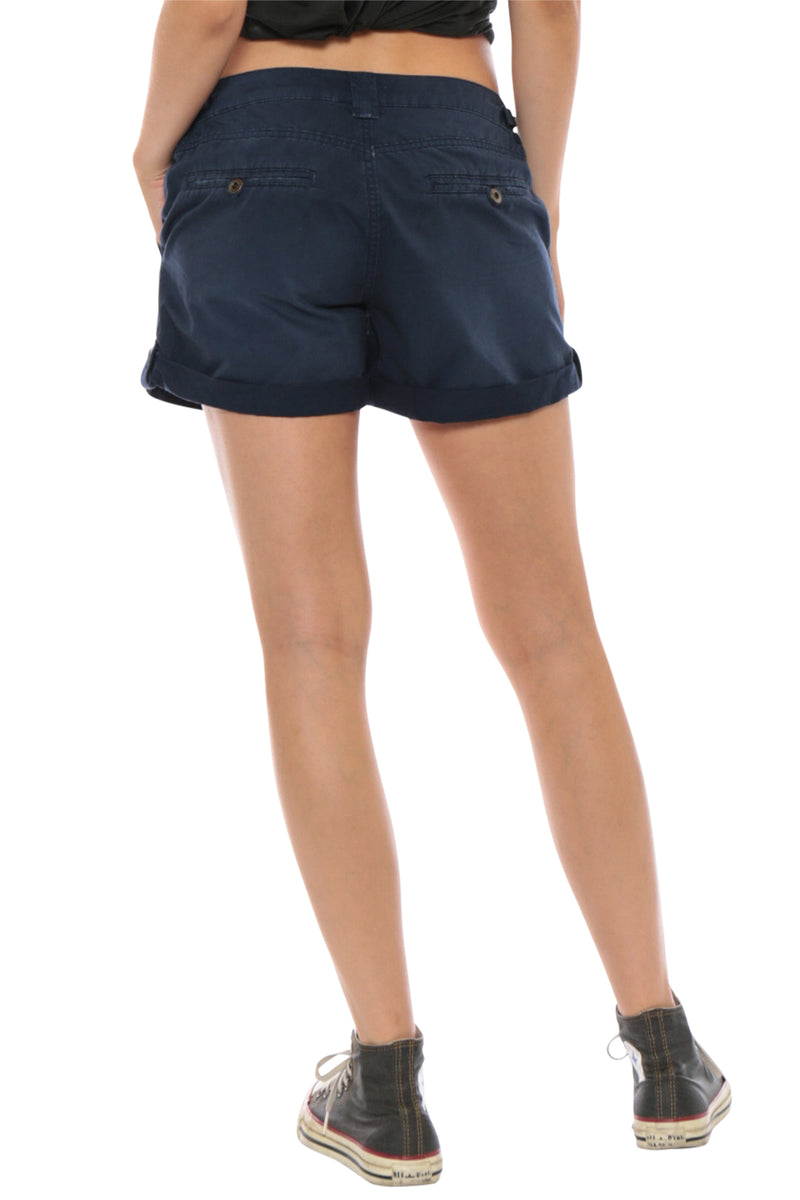 VINTAGE ROLLED SHORT - NAVY - Da-Nang
