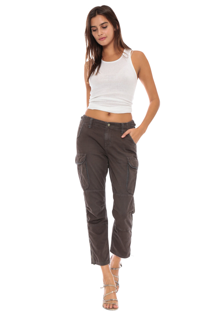 EASY FIT CARGO PANT - PEPPER - Da-Nang