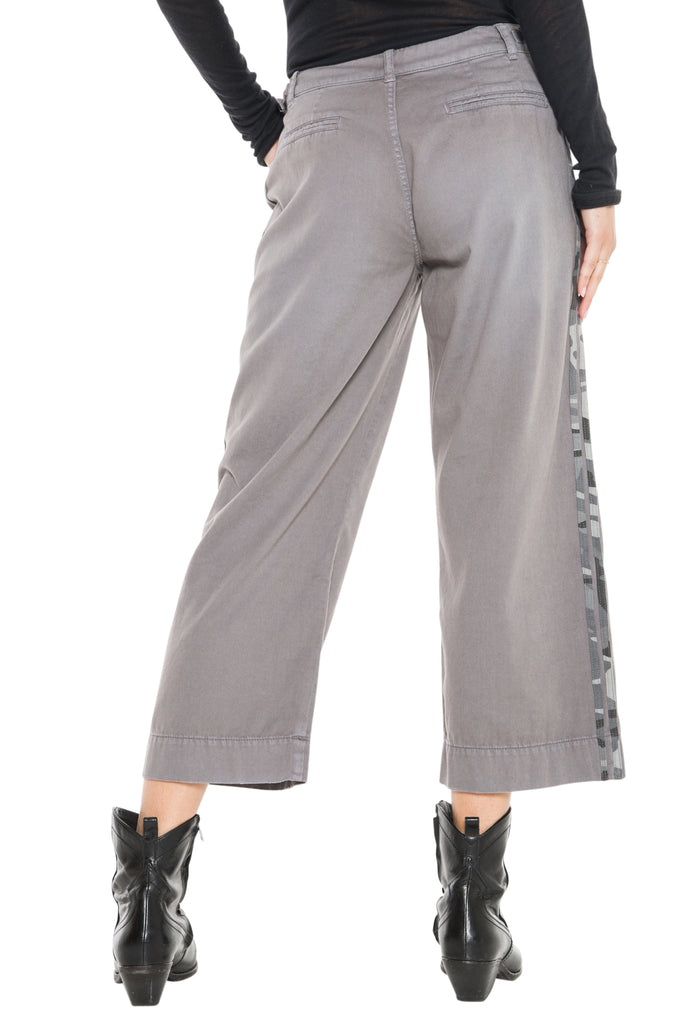 WIDE LEG PANT- CHARCOAL GREY - Da-Nang