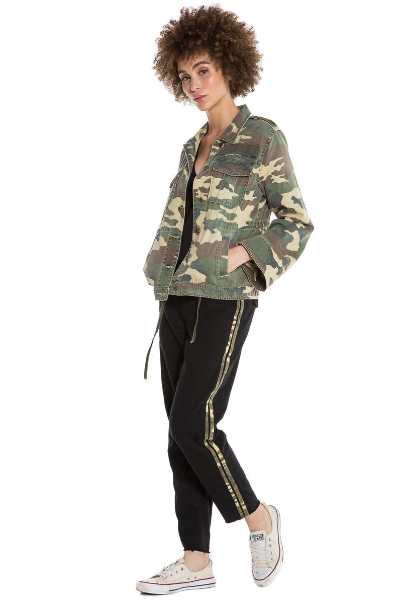 SURPLUS SUMMERFEST JACKET-  ARMY CAMO - Da-Nang