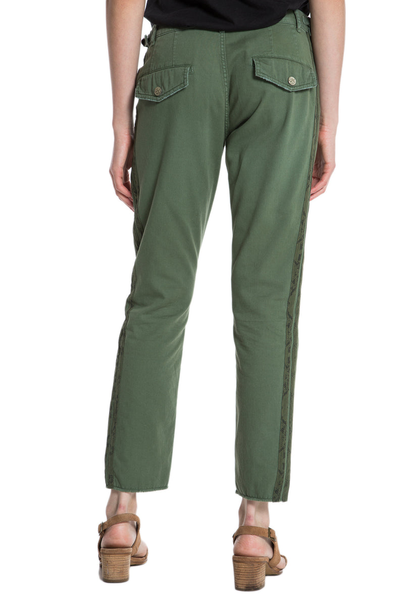 HI-LO LONG PANT - BRONZE GREEN - Da-Nang