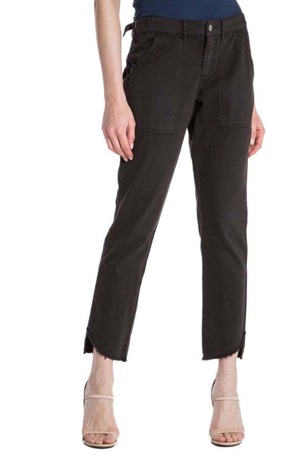 HI-LO LONG PANT - LICORICE - Da-Nang