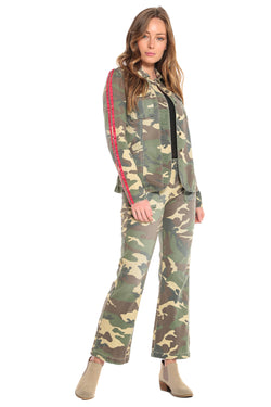 TAPERED MILITARY BLAZER - ARMY CAMO - Da-Nang