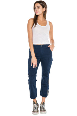 EASY FIT CARGO PANT - NAVY - Da-Nang