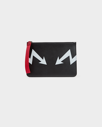Medium Arrow Bolt Zip Pouch