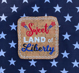 Independence Day Coaster Set of 6