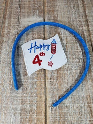 Happy 4th Headband Slider