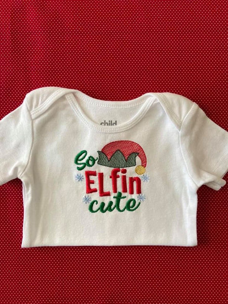 So Elfin' Cute Applique & Sketch