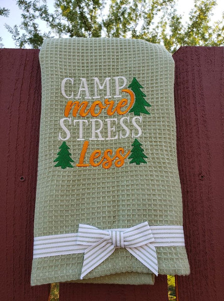 Camp More Stress Less