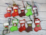 Ornament Stocking Bundle of 10