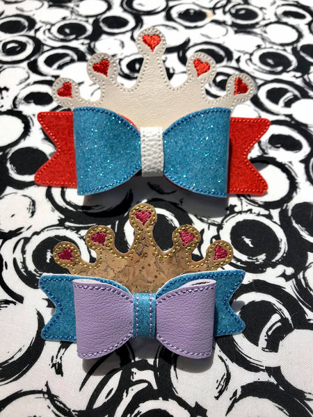 ITH Princess Crown Bow