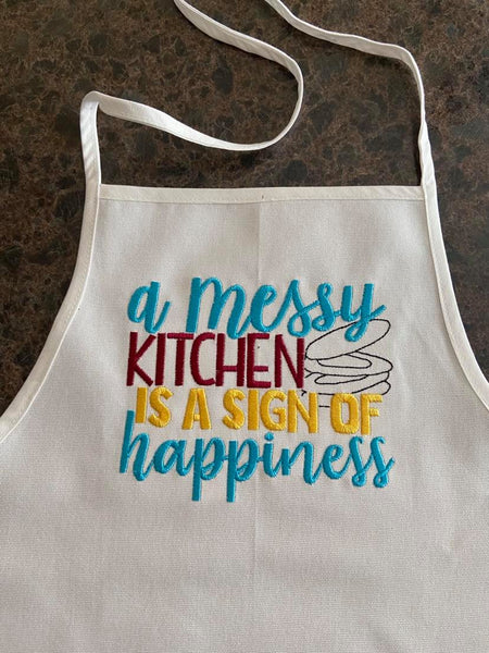 Messy Kitchen Sign Of Happiness