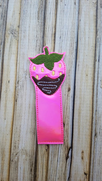 Chocolate Covered Strawberry Bookmark