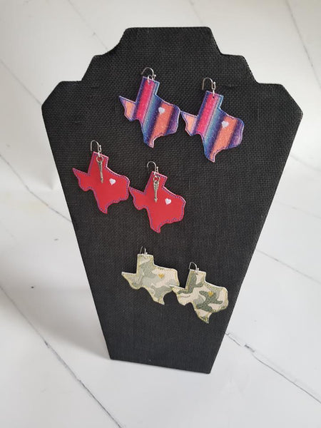 Texas State Earring