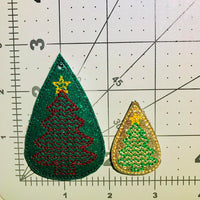 Tear Drop Christmas Tree