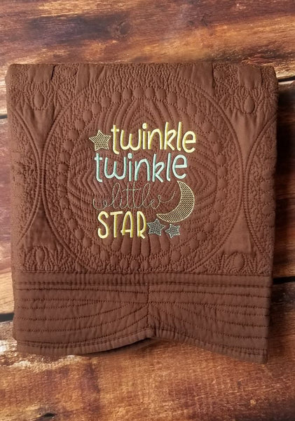 Twinkle Twinkle Little Star - Fill Stitch