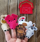 Old MacDonald Finger Puppet SET