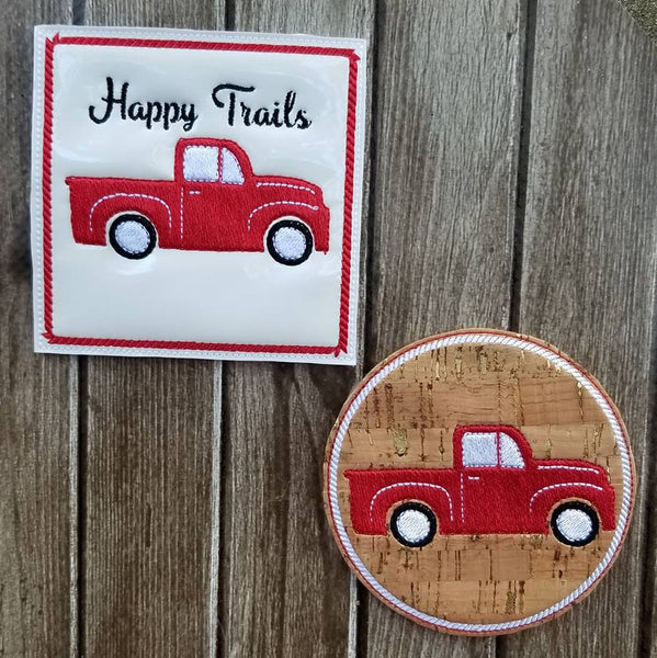 Rustic Coaster Collection -Truck ONLY - 2 Styles
