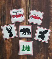 Rustic Coaster Collections - ALL 6 Designs - 2 Styles