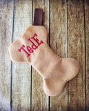 ITH Dog Bone Shaped Stocking - 3 Sizes