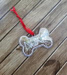 Dog Bone Ornament