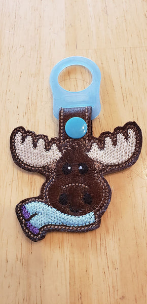 Christmas Moose Fob - 2 Styles