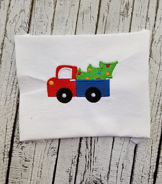 Toy Truck with Christmas Tree - 3 Sizes