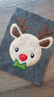 Bow Tie Reindeer - 3 Sizes