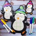 Penguin Tic-Tac-Toe - 3 Sizes