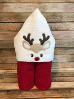 Boy Reindeer Face Only - 2 Sizes