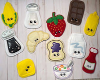 Play Food Set 1 - 2 Sizes