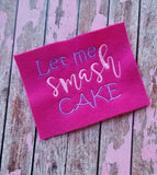 Let Me Smash Cake - Girl - 2 Sizes