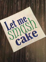 Let Me Smash Cake - Boy - 2 Sizes